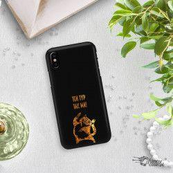 NEON GOLD ETUI NA TELEFON IPHONE X / XS A1865/A1920 MIENIĄCE SIĘ ZLC100