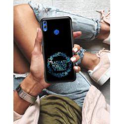 ETUI NA TELEFON HUAWEI HONOR 8X NEON MIENIĄCE SIĘ ZLJ160