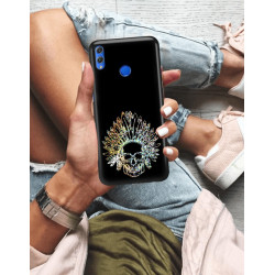 ETUI NA TELEFON HUAWEI HONOR 8X NEON MIENIĄCE SIĘ ZLN120